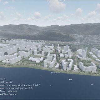 Архитектурно-планировочная концепция жилого района «Тихие зори»
