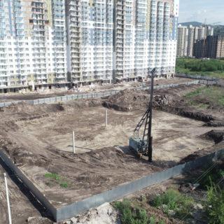 Началось строительство Детского сада № 1 в мкрн. «Тихие Зори».
